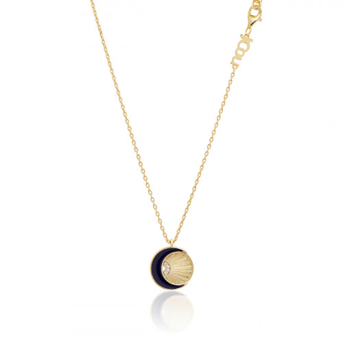 JCOU SUN AND MOON NECKLACE