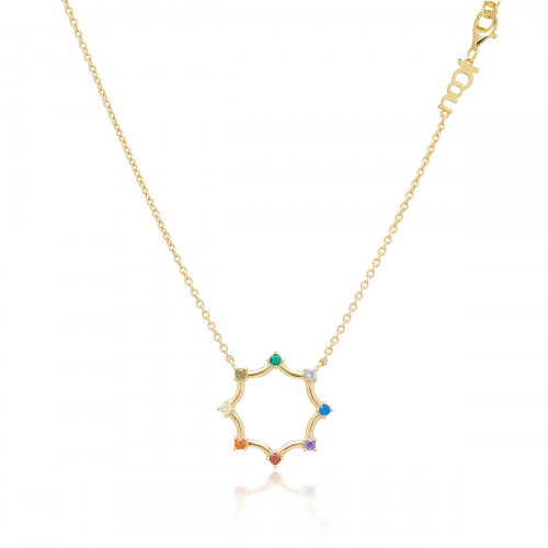 JCOU RAINBOW NECKLACE