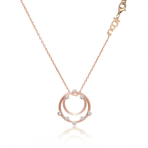JCOU ROUND MINIMAL NECKLACE